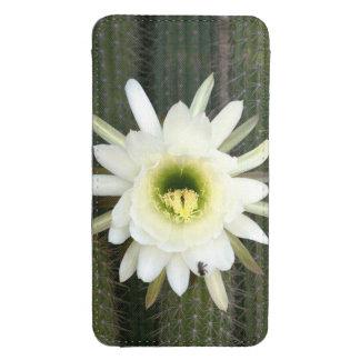 Reina de la flor del cactus de la noche, región funda acolchada para móvil