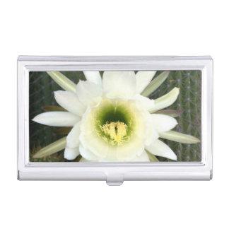 Reina de la flor del cactus de la noche, región caja de tarjetas de negocios