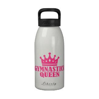 Reina de la gimnasia botellas de beber