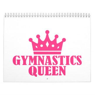 Reina de la gimnasia calendario