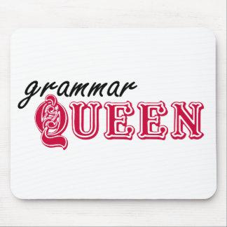 Reina de la gramática alfombrillas de raton
