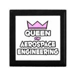 Reina de la ingeniería aeroespacial cajas de regalo