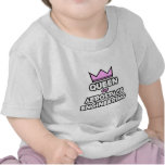 Reina de la ingeniería aeroespacial camiseta