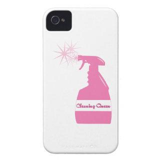 Reina de la limpieza iPhone 4 carcasas