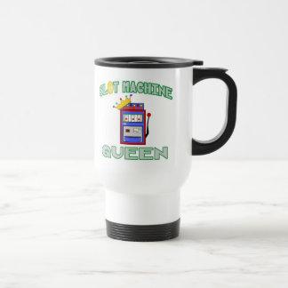 Reina de la máquina tragaperras tazas de café