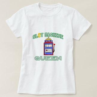 Reina de la máquina tragaperras (tiara) camisas