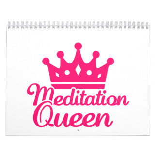 Reina de la meditación calendario