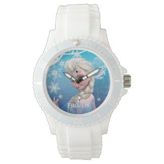 Reina de la nieve de Elsa el | Reloj De Mano