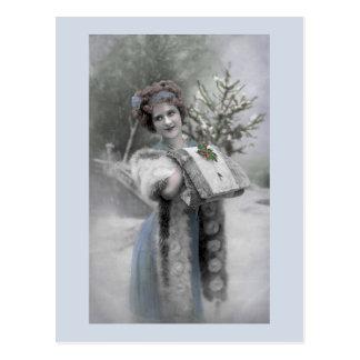 Reina de la nieve - postal
