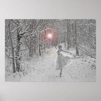 Reina de la nieve póster