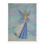 Reina de la nieve tarjeta postal