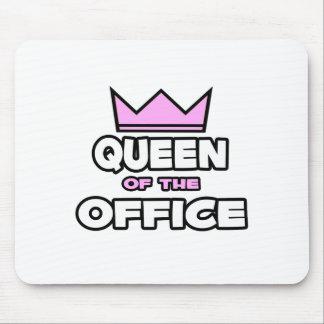 Reina de la oficina tapetes de raton