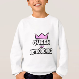 Reina de la ortodoncia sudadera