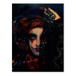 Reina de la oscuridad tarjeta postal