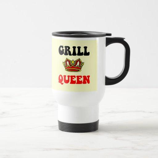 Reina de la parrilla taza