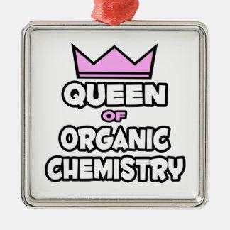 Reina de la química orgánica ornamento para arbol de navidad