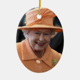 Reina de la reina Elizabeth II del Reino Unido Ornato
