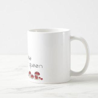 Reina de la seta taza de café