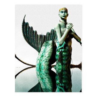 Reina de la sirena tarjetas postales
