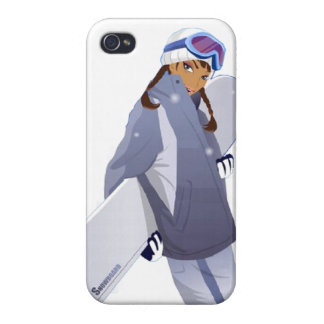 Reina de la snowboard - caso del iPhone 4 iPhone 4 Carcasa