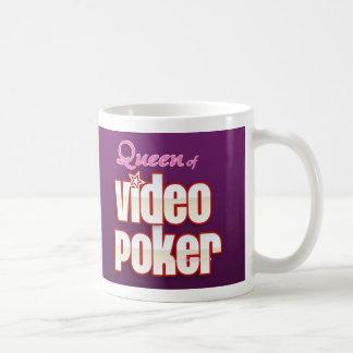 Reina de la taza video del póker