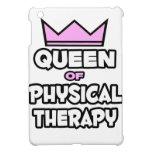 Reina de la terapia física iPad mini fundas