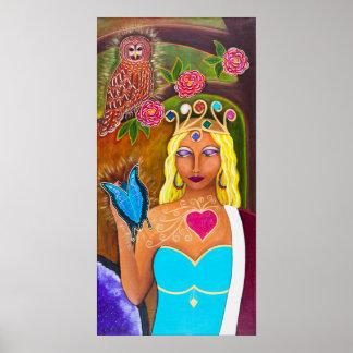 """""""Reina de la tierra """" Poster"""