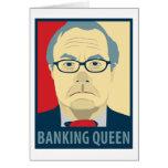 Reina de las actividades bancarias de Anti-Barney  Tarjetas