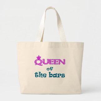Reina de las barras bolsa tela grande
