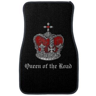 Reina de las esteras reales del coche de la corona