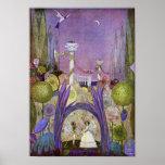 Reina de las flores de la impresión de Thumbelina Posters