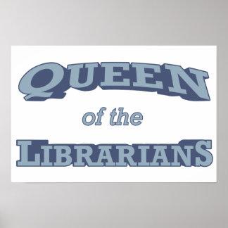 Reina de los bibliotecarios póster