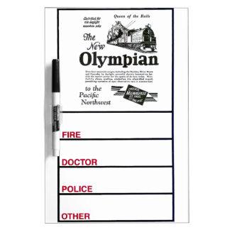 Reina de los carriles - nuevo olímpico 1929 pizarras blancas de calidad