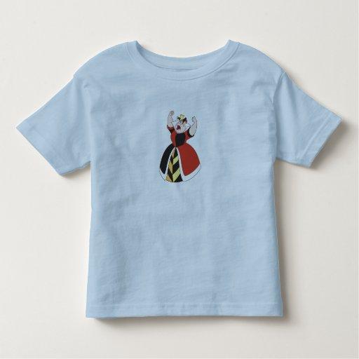 Reina de los corazones Disney Camisetas
