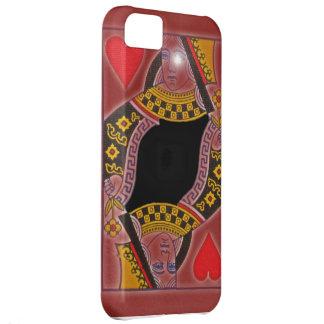 Reina de los corazones para el teléfono c 5 de i funda para iPhone 5C
