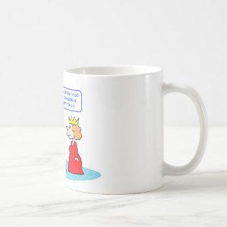 reina de los dragones de las mazmorras del rey taza de café