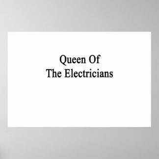 Reina de los electricistas póster