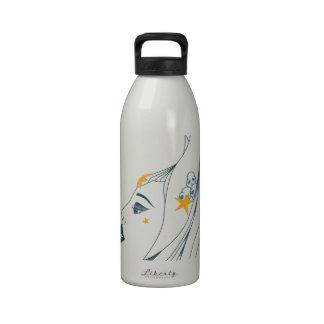 Reina de los mares botella de agua reutilizable