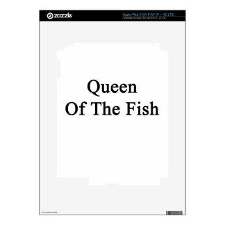 Reina de los pescados pegatina skin para iPad 3