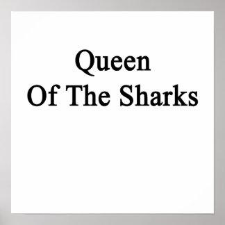 Reina de los tiburones póster