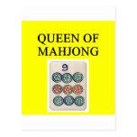 Reina de MAHJONG Postal