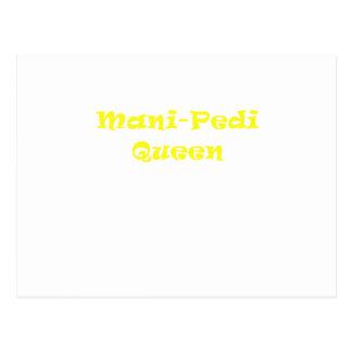 Reina de Mani Pedi Postal