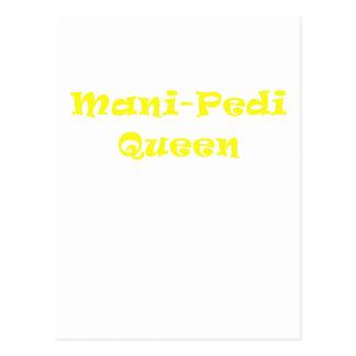 Reina de Mani Pedi Postales