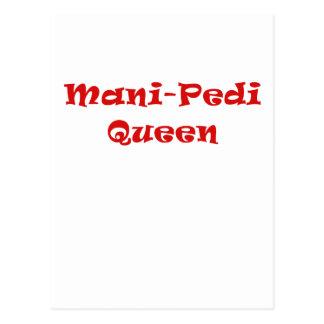 Reina de Mani Pedi Tarjetas Postales