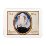 Reina de Maria de escocés (1542-87) (aguazo en la  Iman