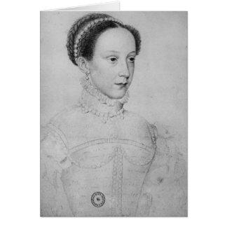 Reina de Maria de escocés, 1559 Tarjeta