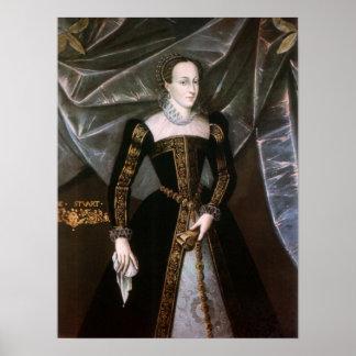 Reina de Maria de la impresión escocesa Impresiones