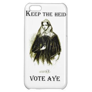 Reina de Maria del caso escocés del iPhone