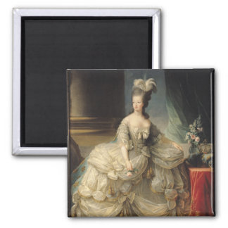 Reina de Marie Antonieta de Francia, 1779 Imán Cuadrado