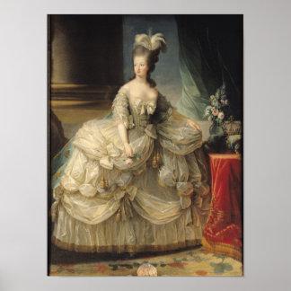 Reina de Marie Antonieta de Francia, 1779 Posters